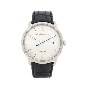Girard Perregaux 1966 18K White Gold - 4952553131BK6A