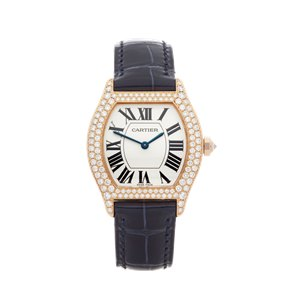 Cartier Tortue Diamond 18K Yellow Gold - WA505031