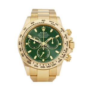 Rolex Daytona Chronograph 18K Yellow Gold - 116508