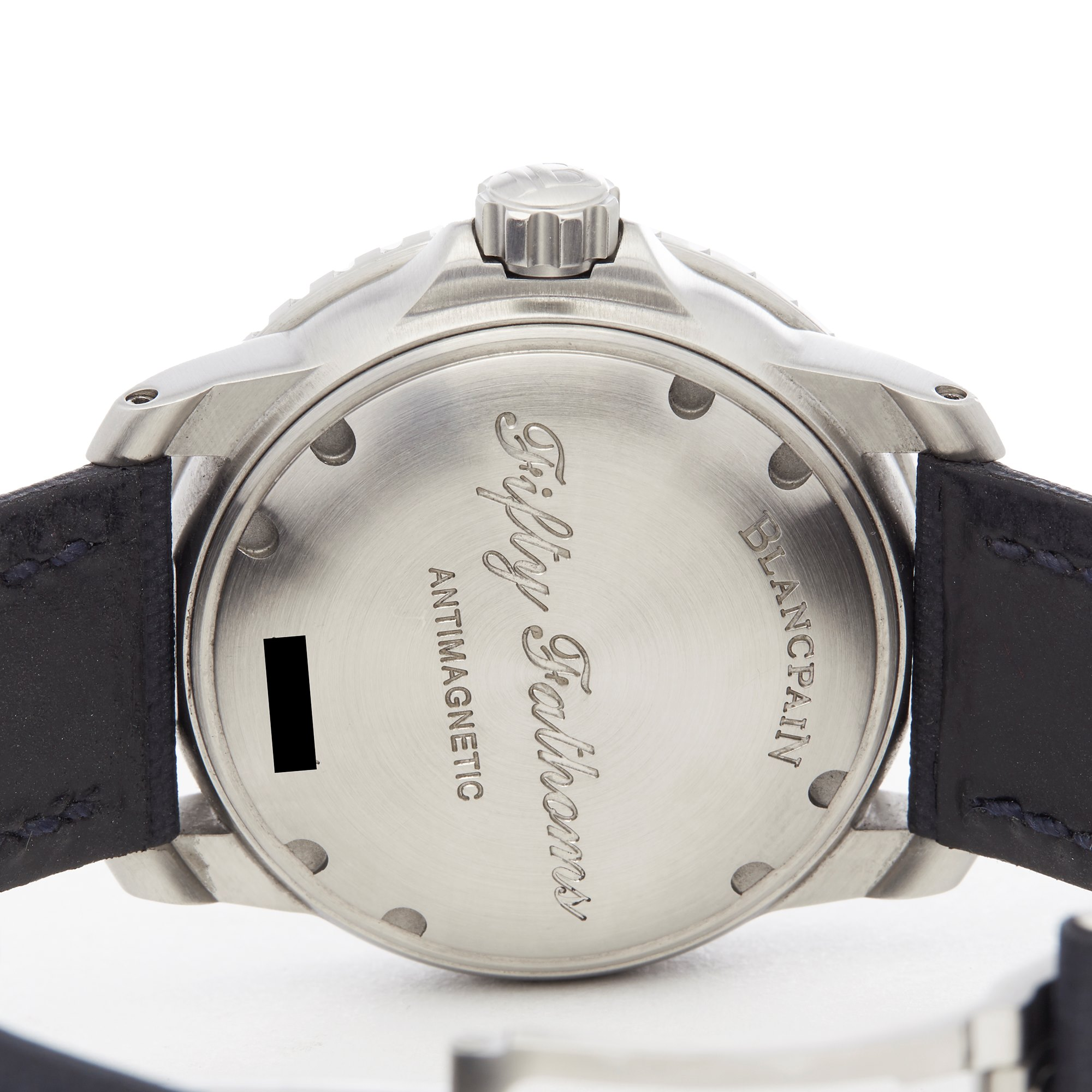 Blancpain Fifty Fathoms Roestvrij Staal 5015D-1140-52B