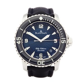 Blancpain Fifty Fathoms Stainless Steel - 5015D-1140-52B
