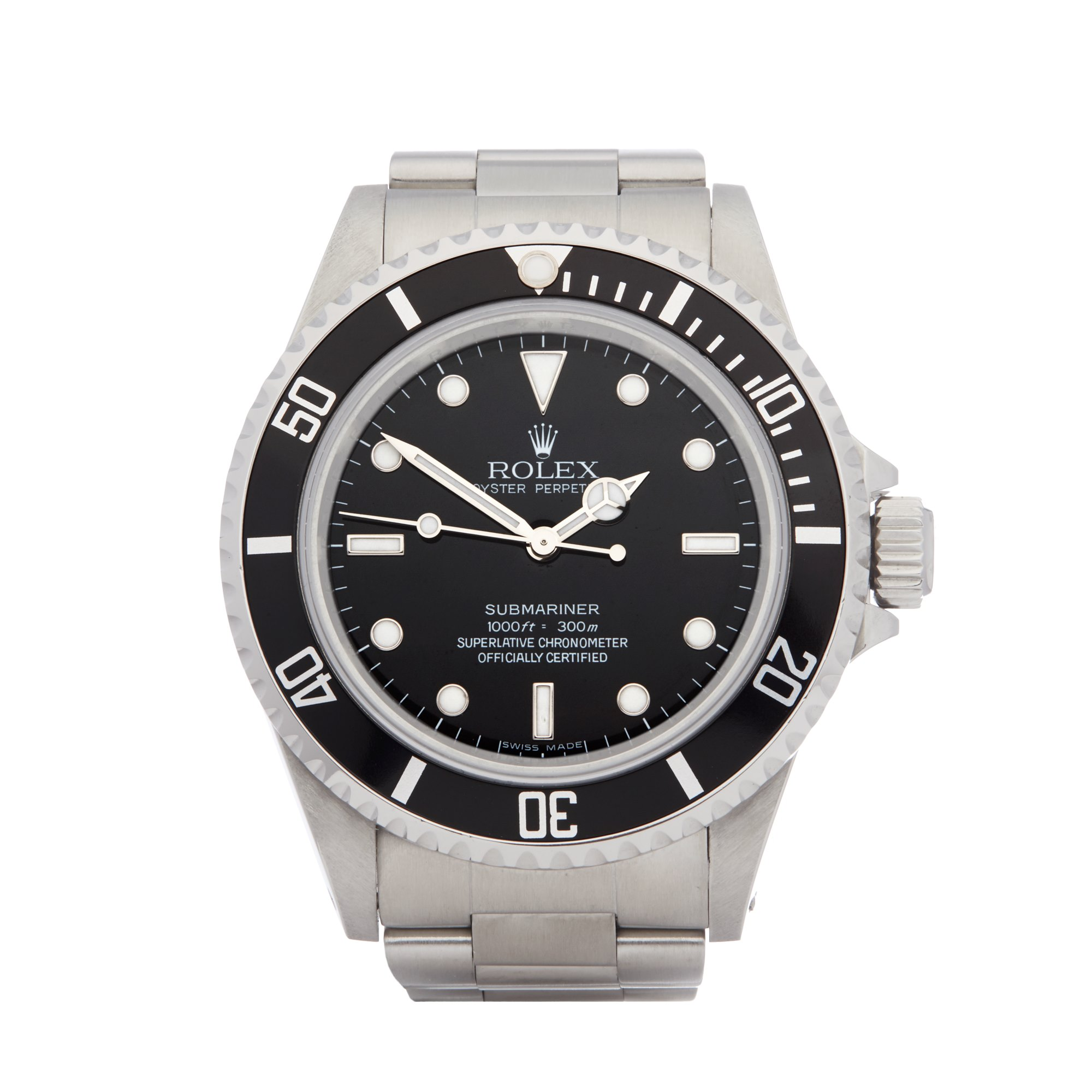 Rolex Submariner No Date Stainless Steel 14060M