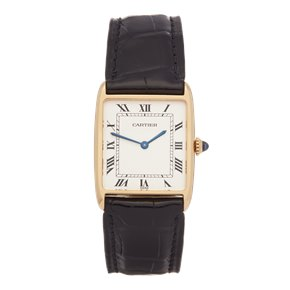 Cartier Tank Paris Mecanique 18K Yellow Gold - 2425