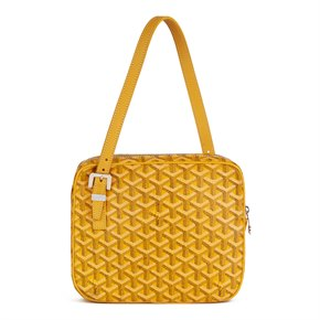 Goyard Yellow Chevron Monogram Canvas Yona MM