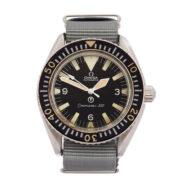 Omega Seamaster 300 T Dial Stainless Steel - 165.024