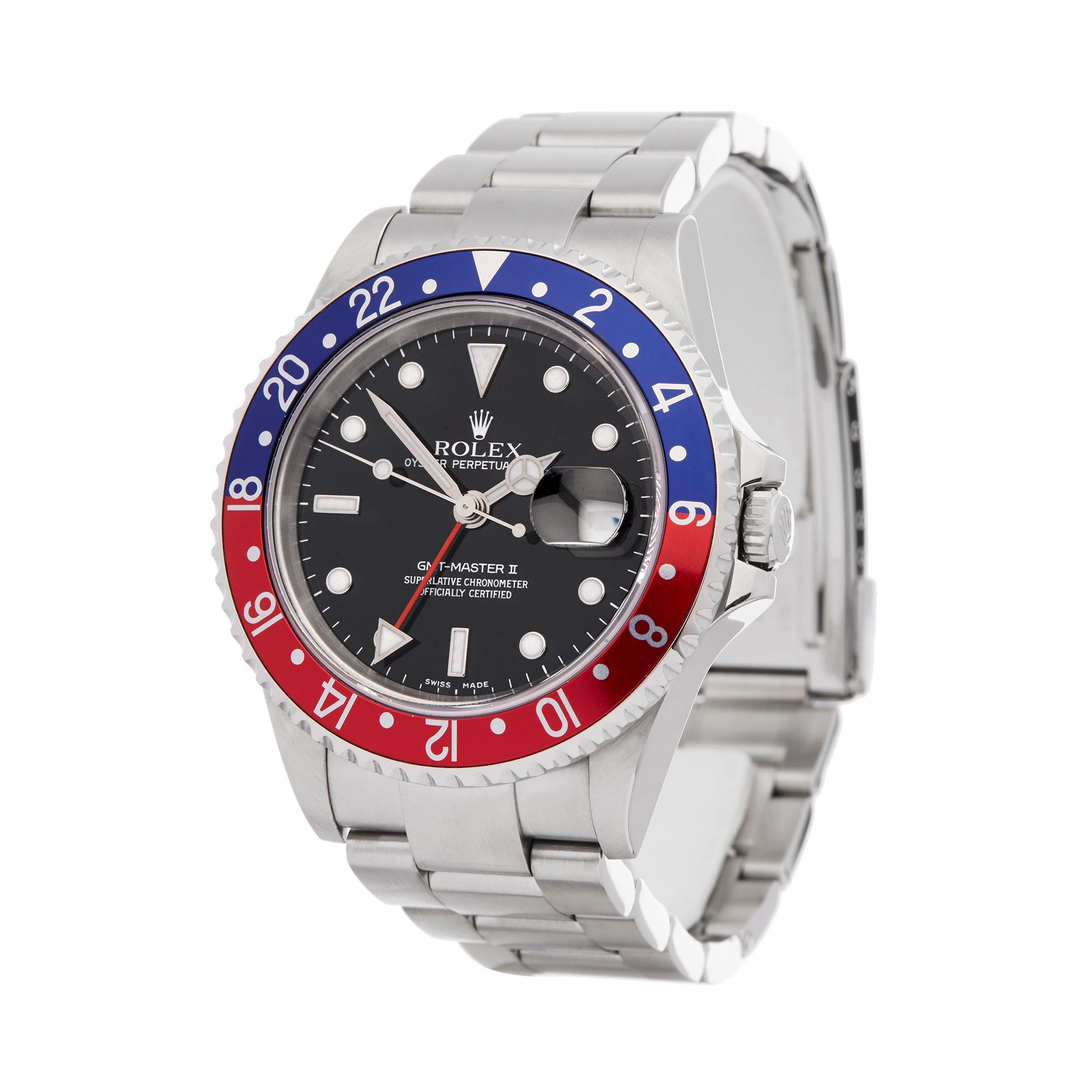 Rolex GMT-Master II Pepsi Stainless Steel 16710