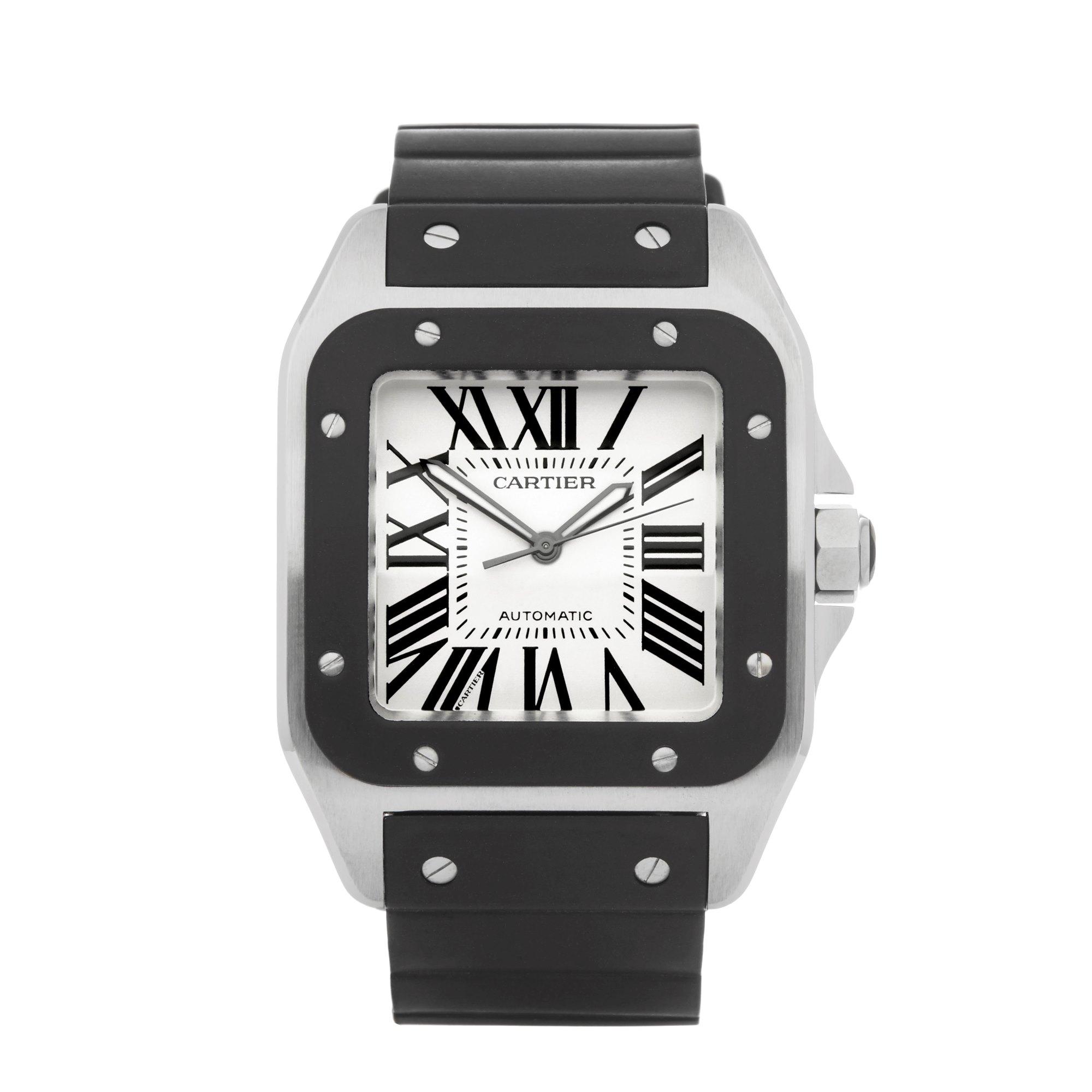 Cartier Santos 100 Stainless Steel 2656