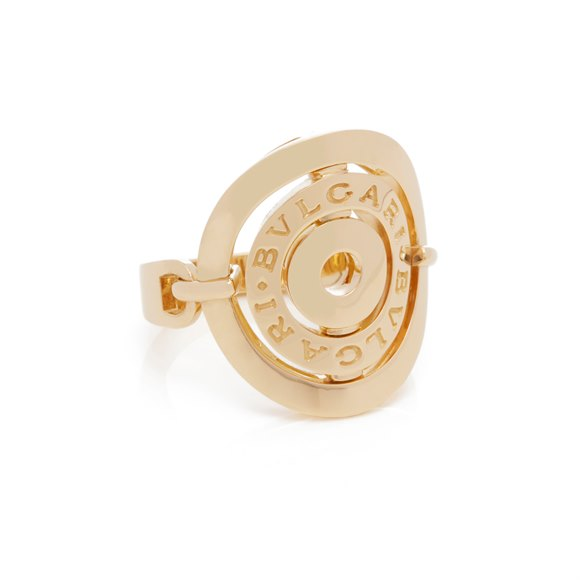 Bulgari 18k Yellow Gold Cerchi Ring