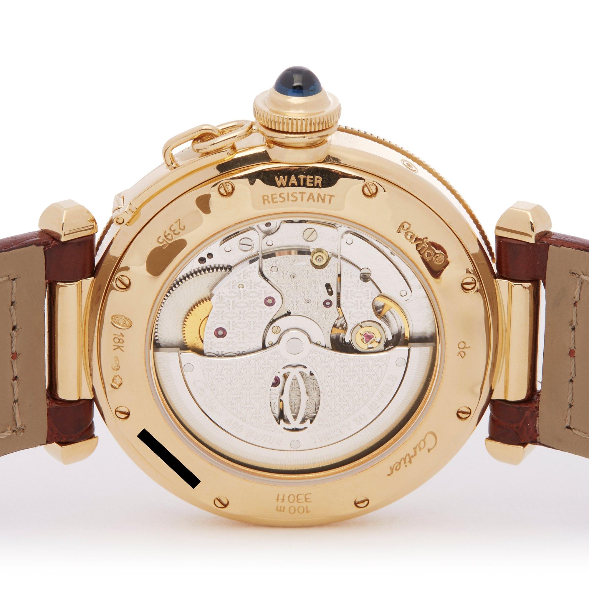 Cartier Pasha Seatimer 18K Geel Goud W3014456 or 2395