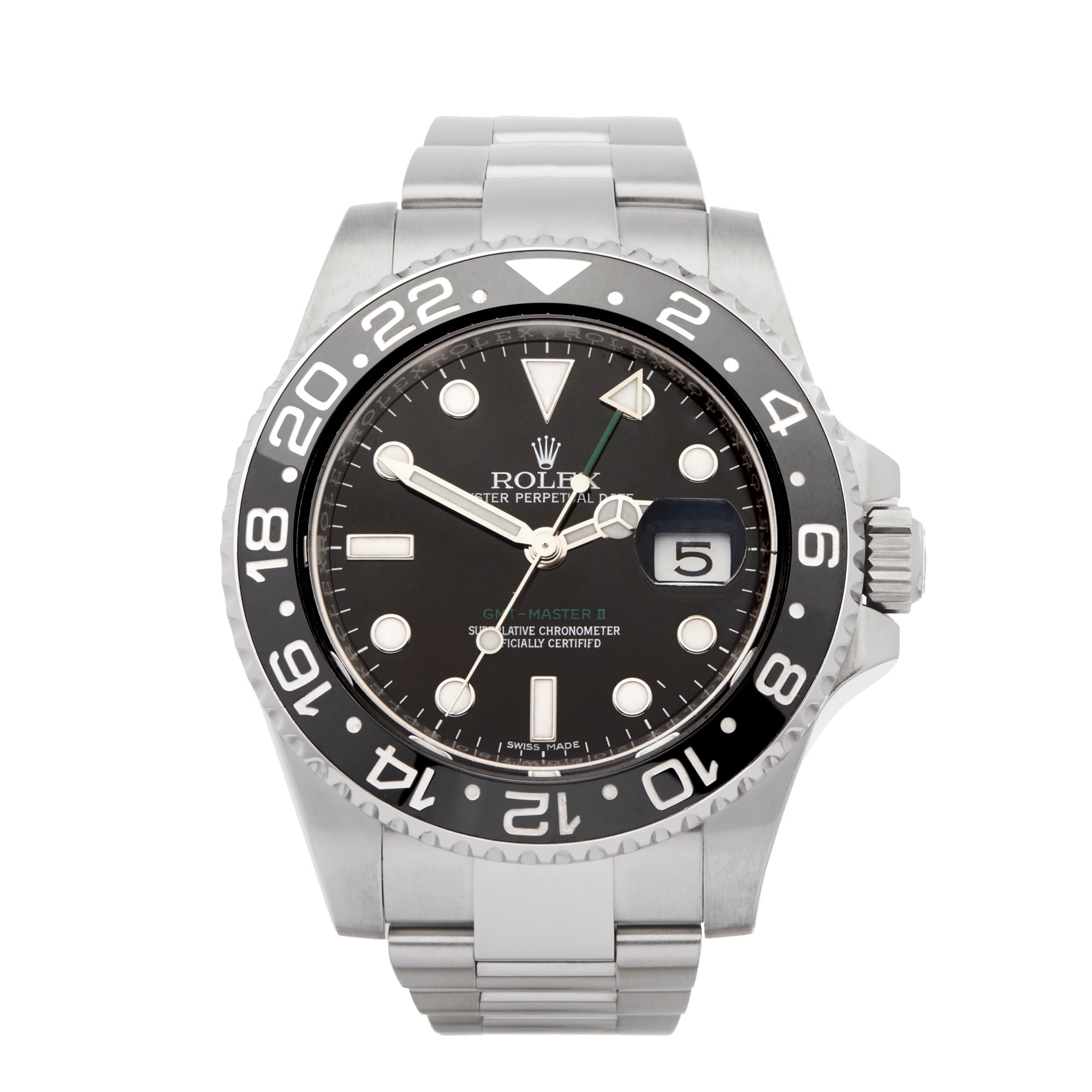Rolex GMT-Master II Stainless Steel 116710LN