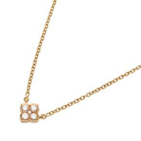 Cartier 18k Yellow Gold Diamond Inde Mystérieuse Necklace