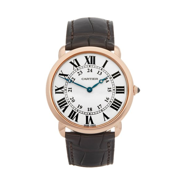 Cartier Ronde 18K Rose Gold - 2889 or W6800251