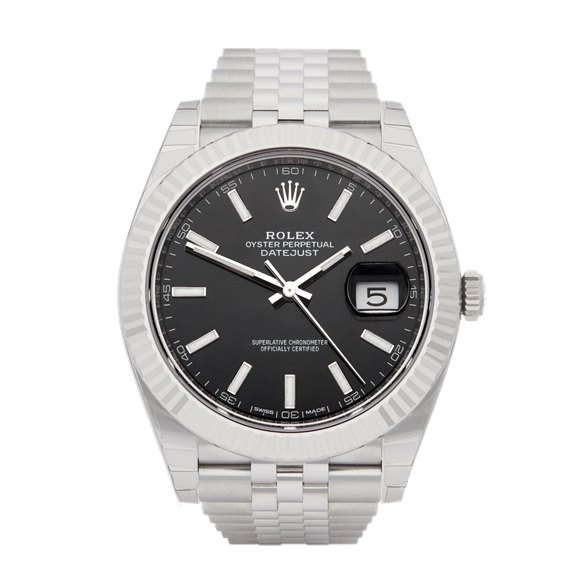 Rolex Datejust 41 Stainless Steel & White Gold - 126334