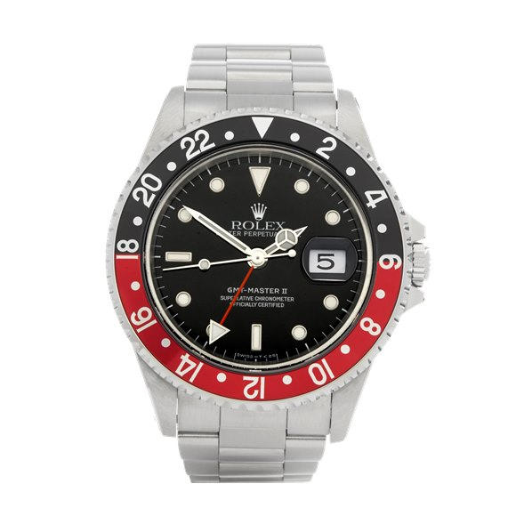 Rolex GMT-Master II Coke Stainless Steel - 16710