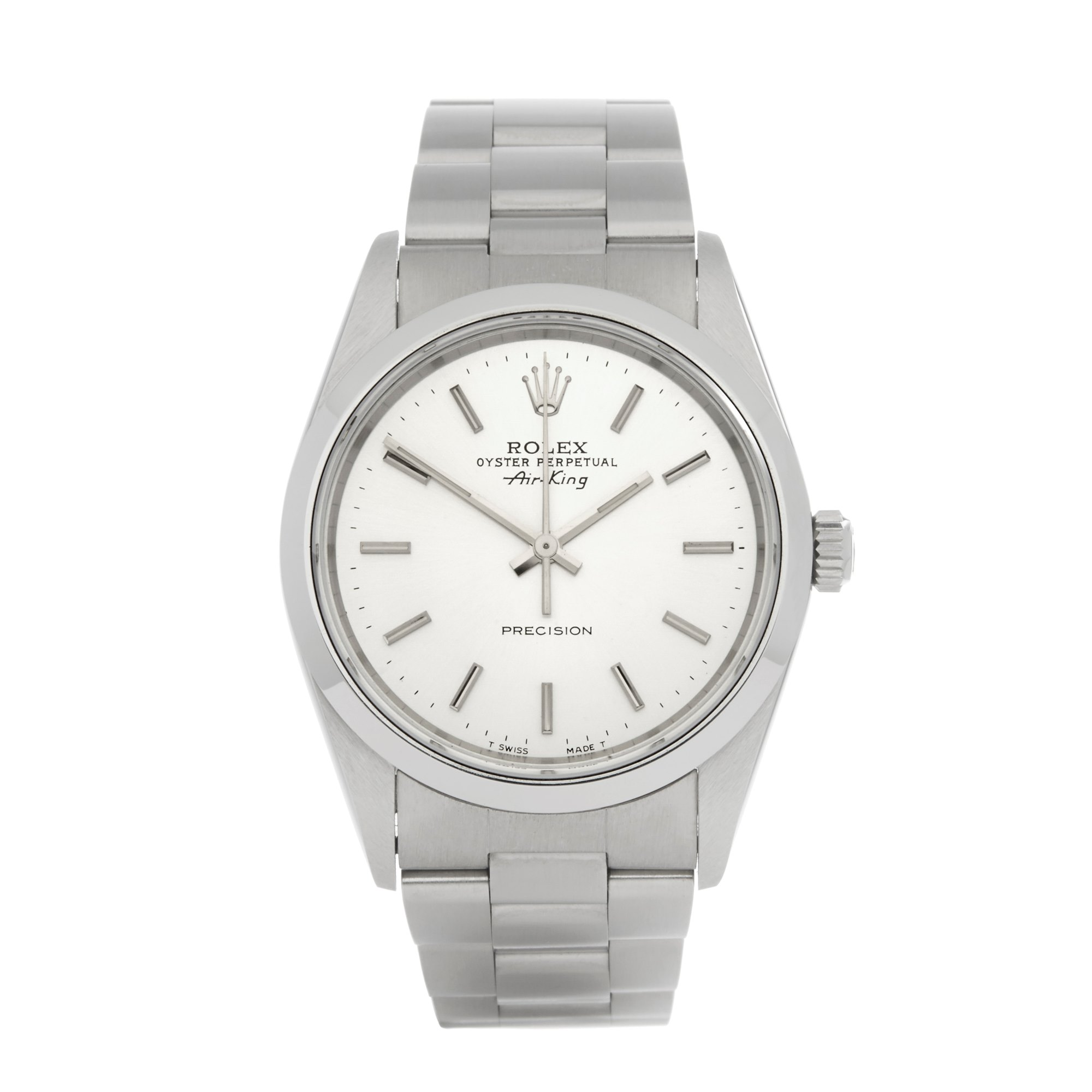 Rolex Air-King Precison Roestvrij Staal 14000