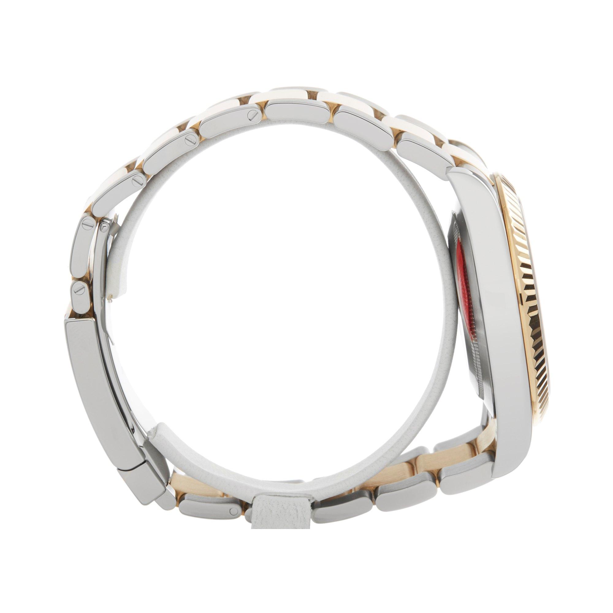 Rolex Datejust II Wimbledon Roestvrij Staal & Geel Goud 116333
