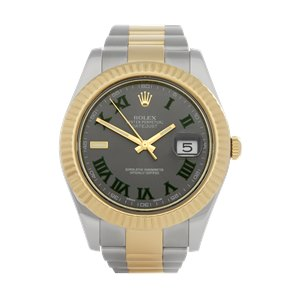 Rolex Datejust II Wimbledon Stainless Steel & Yellow Gold - 116333