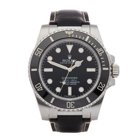 Rolex Submariner No Date Stainless Steel - 114060