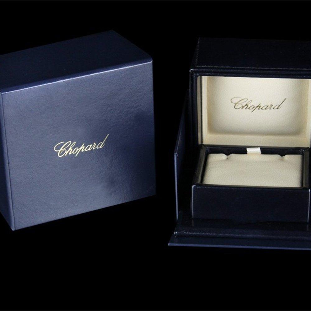 Chopard Happy Diamonds Hearts 18K White Gold Diamond Earrings