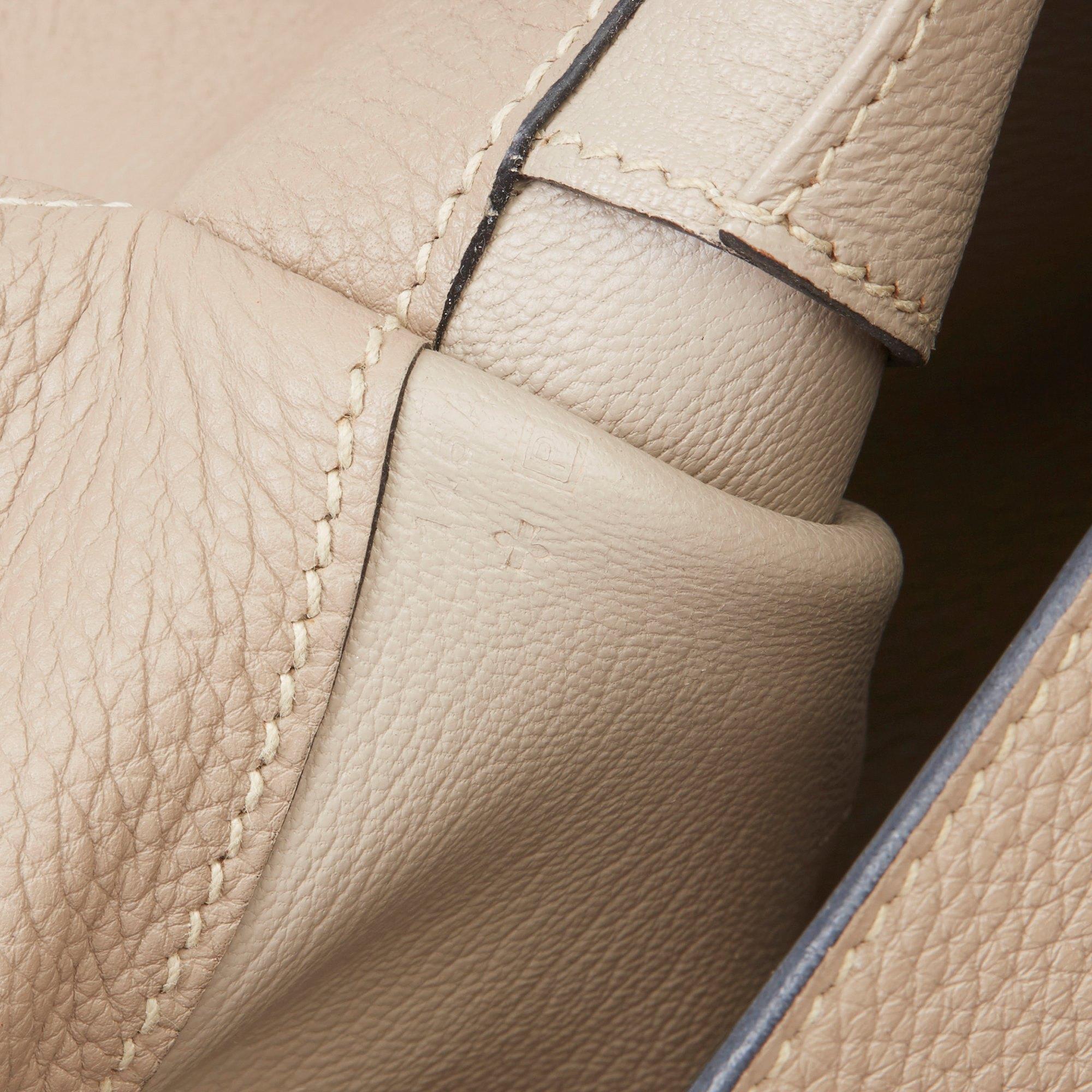 Hermès Etoupe Clemence Leather Etribelt