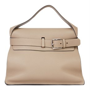 Hermès Etoupe Clemence Leather Etribelt