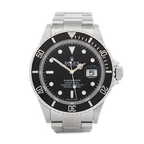 Rolex Submariner Date Stainless Steel - 16610