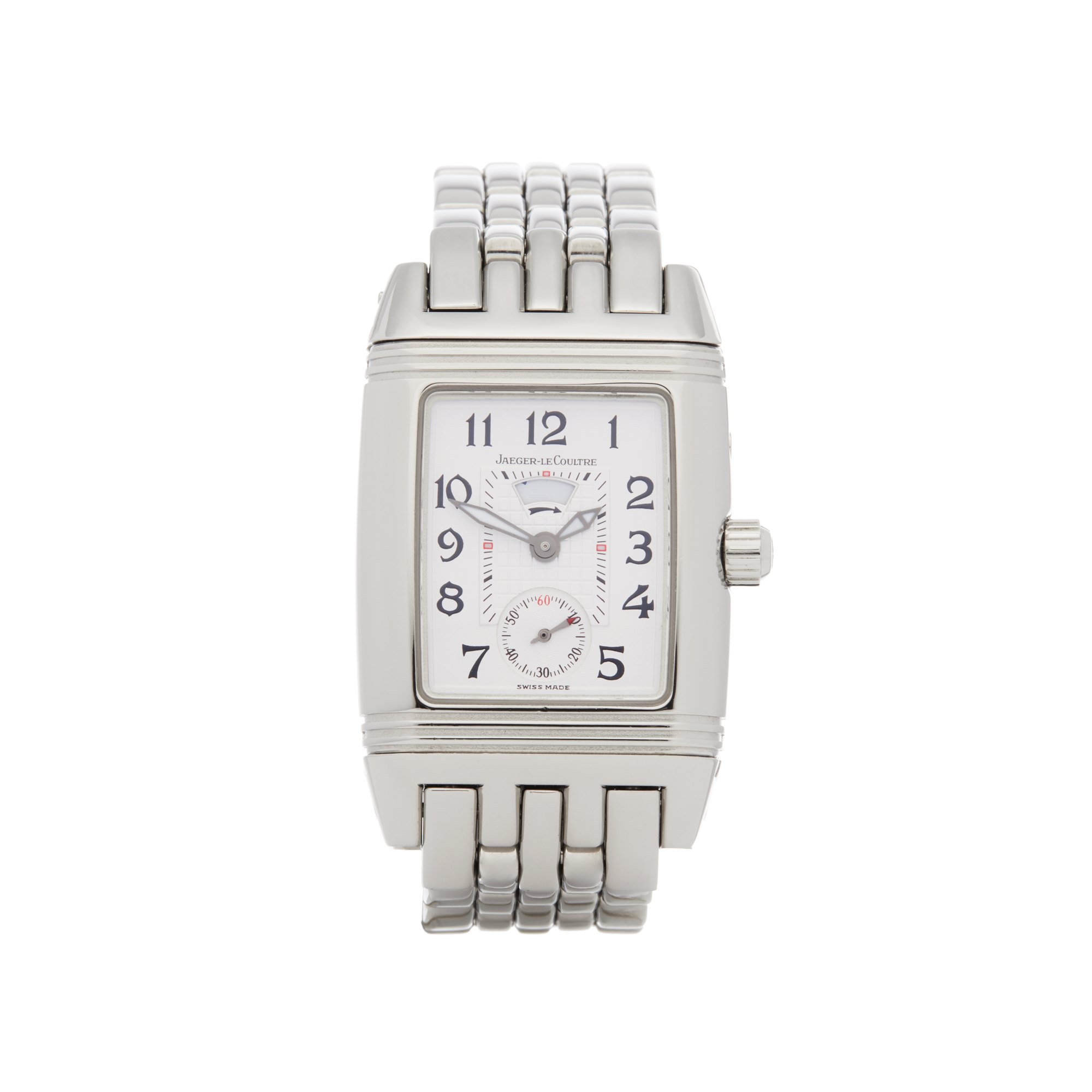 Jaeger-LeCoultre Reverso Diamond Roestvrij Staal 296.8.74