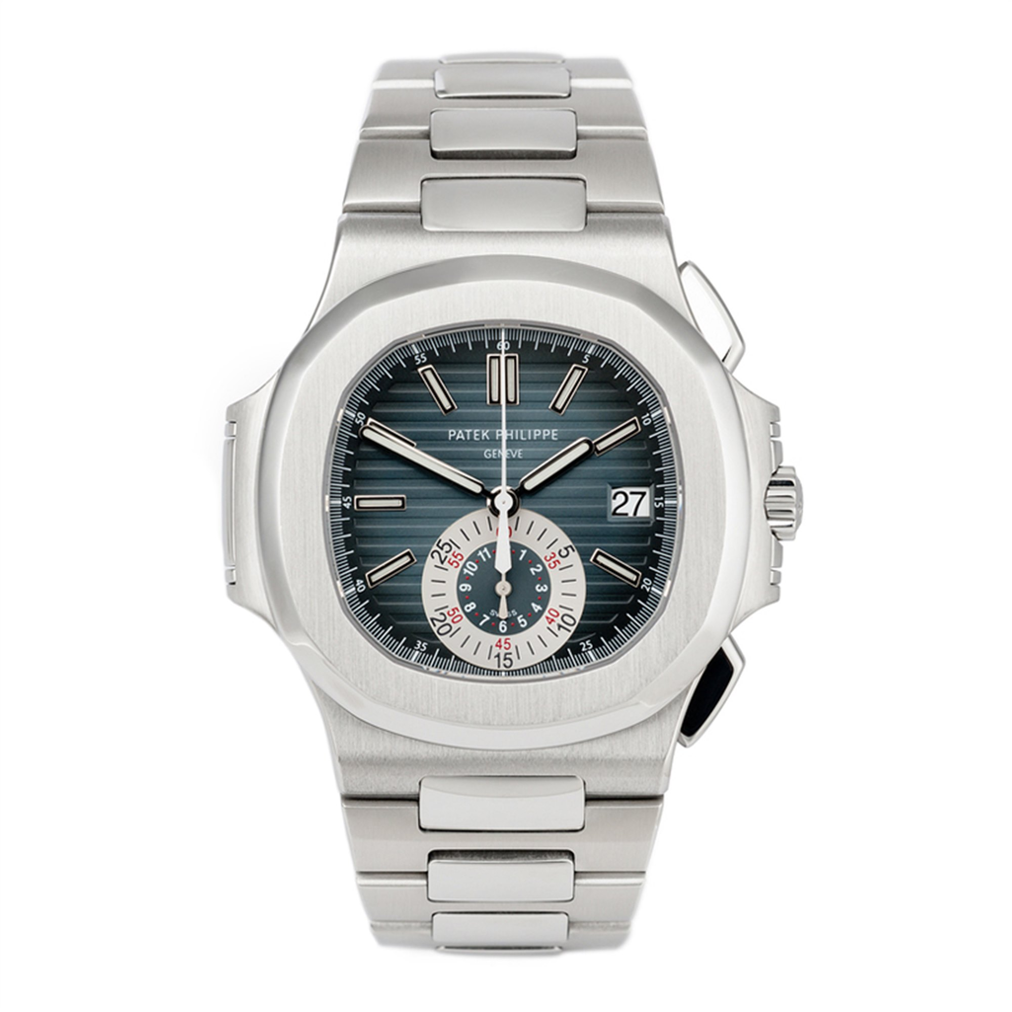 Patek Philippe Nautilus Chronograph Roestvrij Staal 5980/1A-001