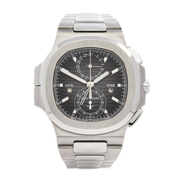 Patek Philippe Nautilus Travel Time Stainless Steel - 5990/1A-001
