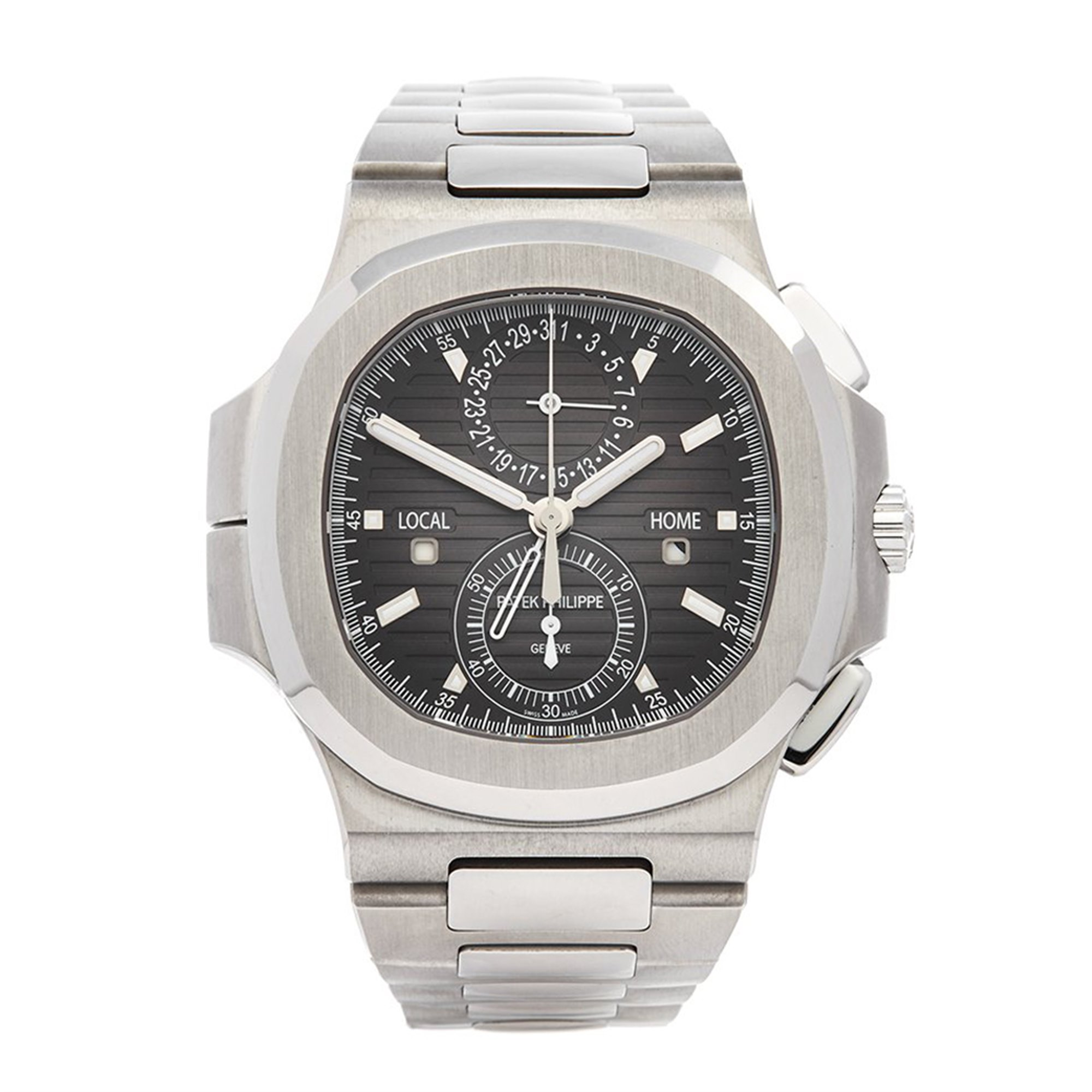Patek Philippe Nautilus Travel Time Stainless Steel 5990/1A-001