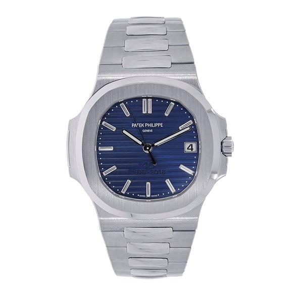 Patek Philippe Nautilus 40th Anniversary Diamond Platinum - 5711/1P-001