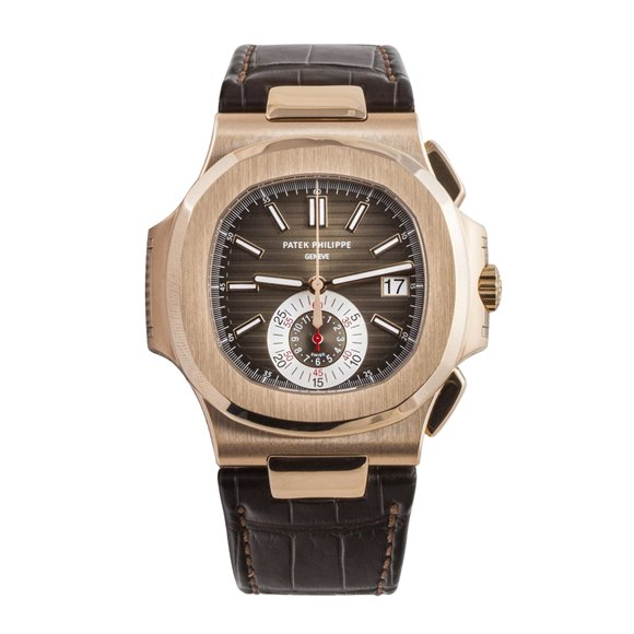 Patek Philippe Nautilus Chronograph Rose Gold - 5980/R-001