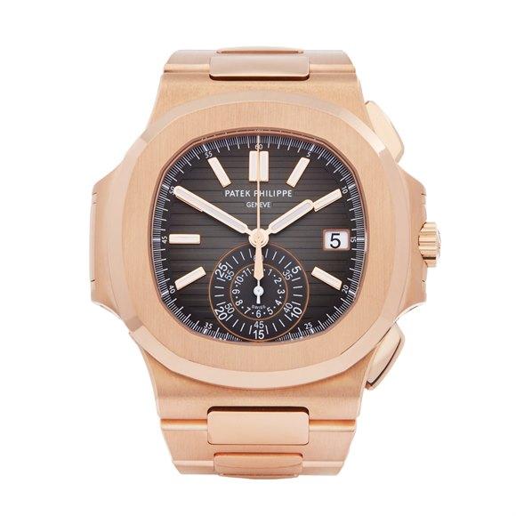 Patek Philippe Nautilus Chronograph 18K Rose Gold - 5980/1R-001