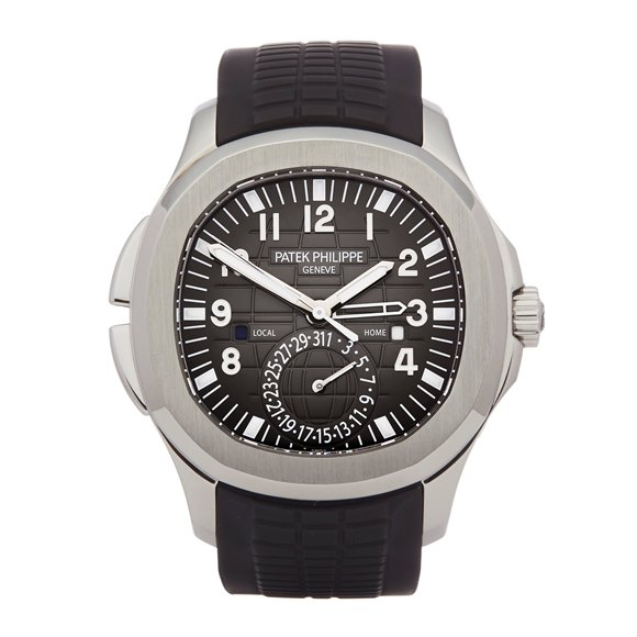 Patek Philippe Aquanaut Travel Time Stainless Steel - 5164A-001