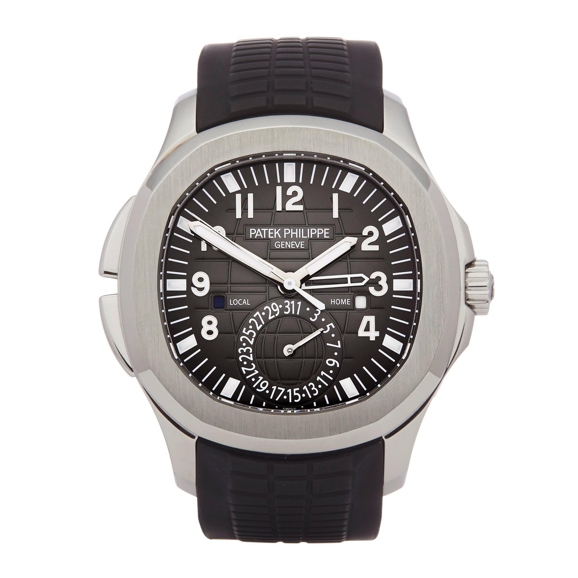 Patek Philippe Aquanaut Travel Time Roestvrij Staal 5164A-001