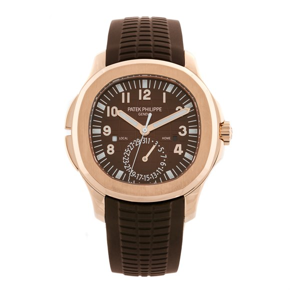 Patek Philippe Aquanaut Travel Time Rose Gold - 5164R-001