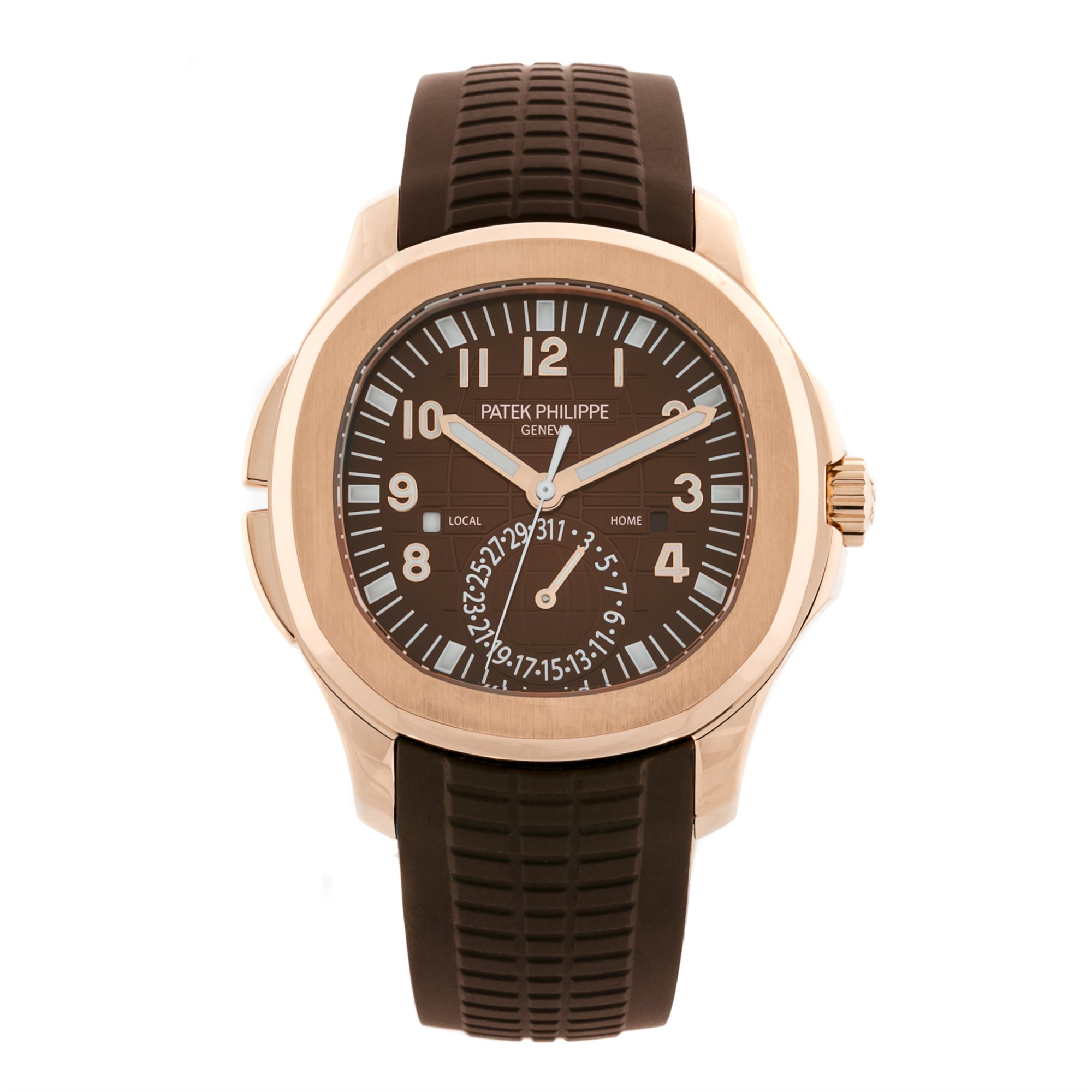 Patek Philippe Aquanaut Travel Time Rose Goud 5164R-001