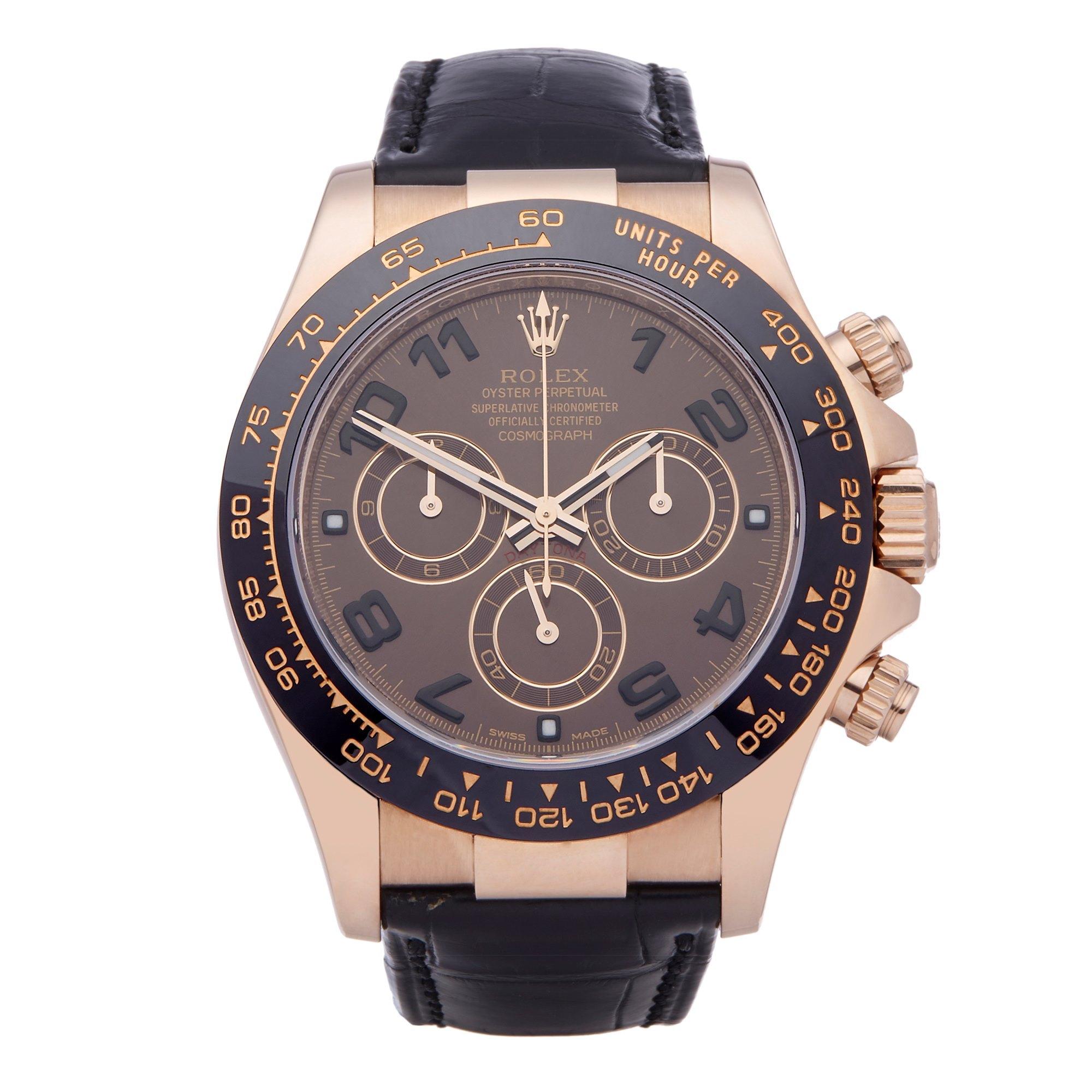 Rolex Daytona Chronograph Rose Gold 116515LN