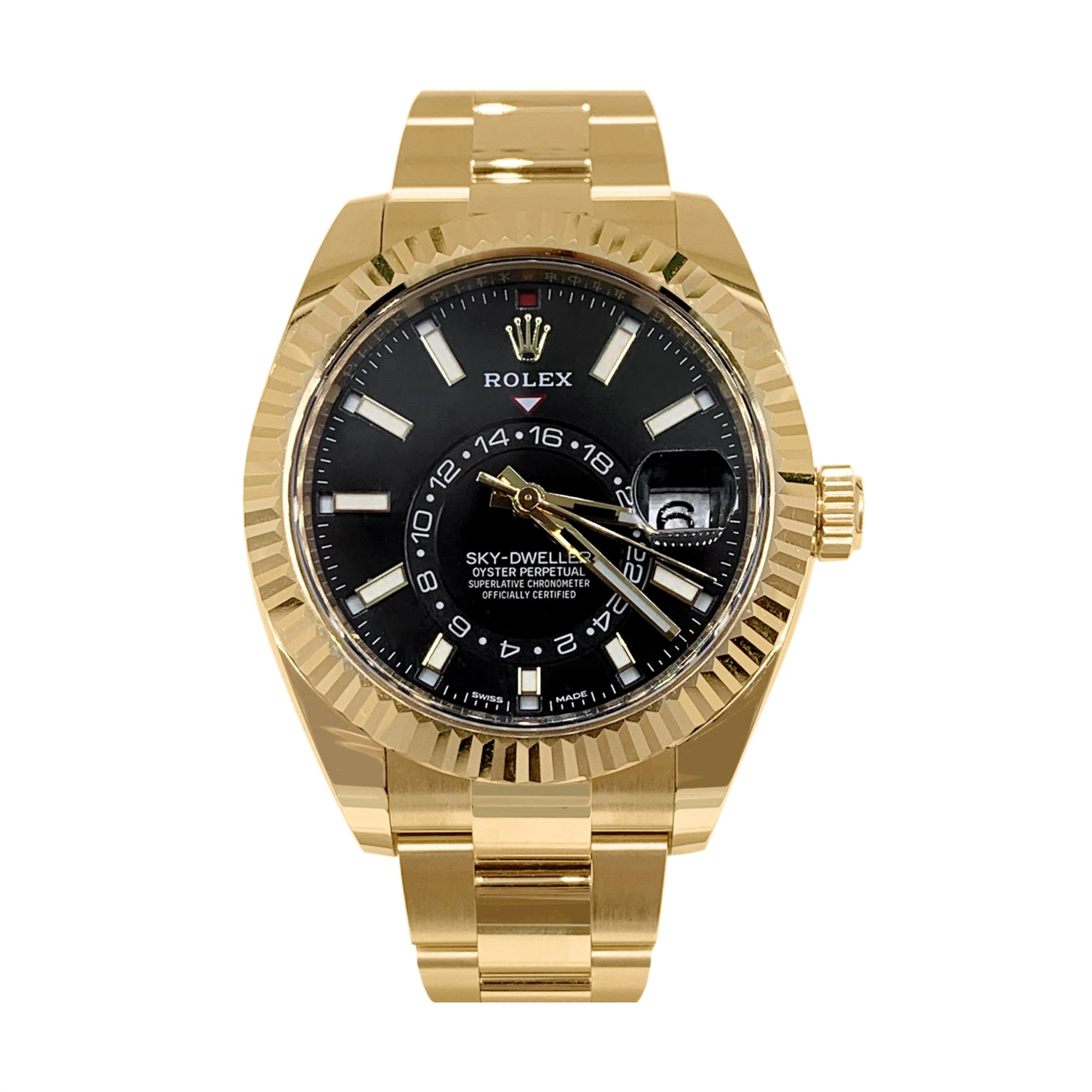 Rolex Sky-Dweller Yellow Gold 326938