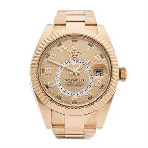Rolex Sky-Dweller 18K Yellow Gold - 326938