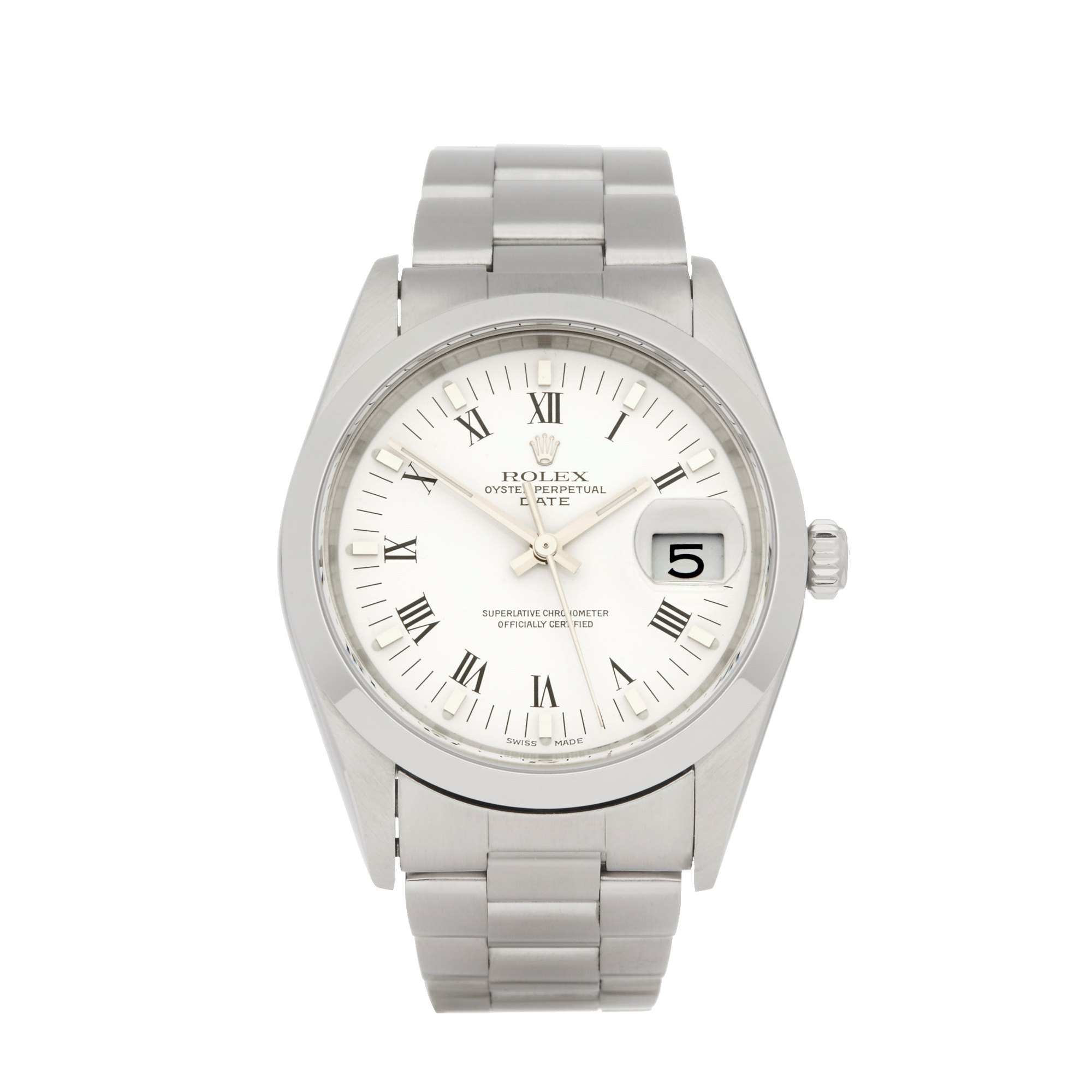 Rolex Oyster Perpetual Date Stainless Steel 15210