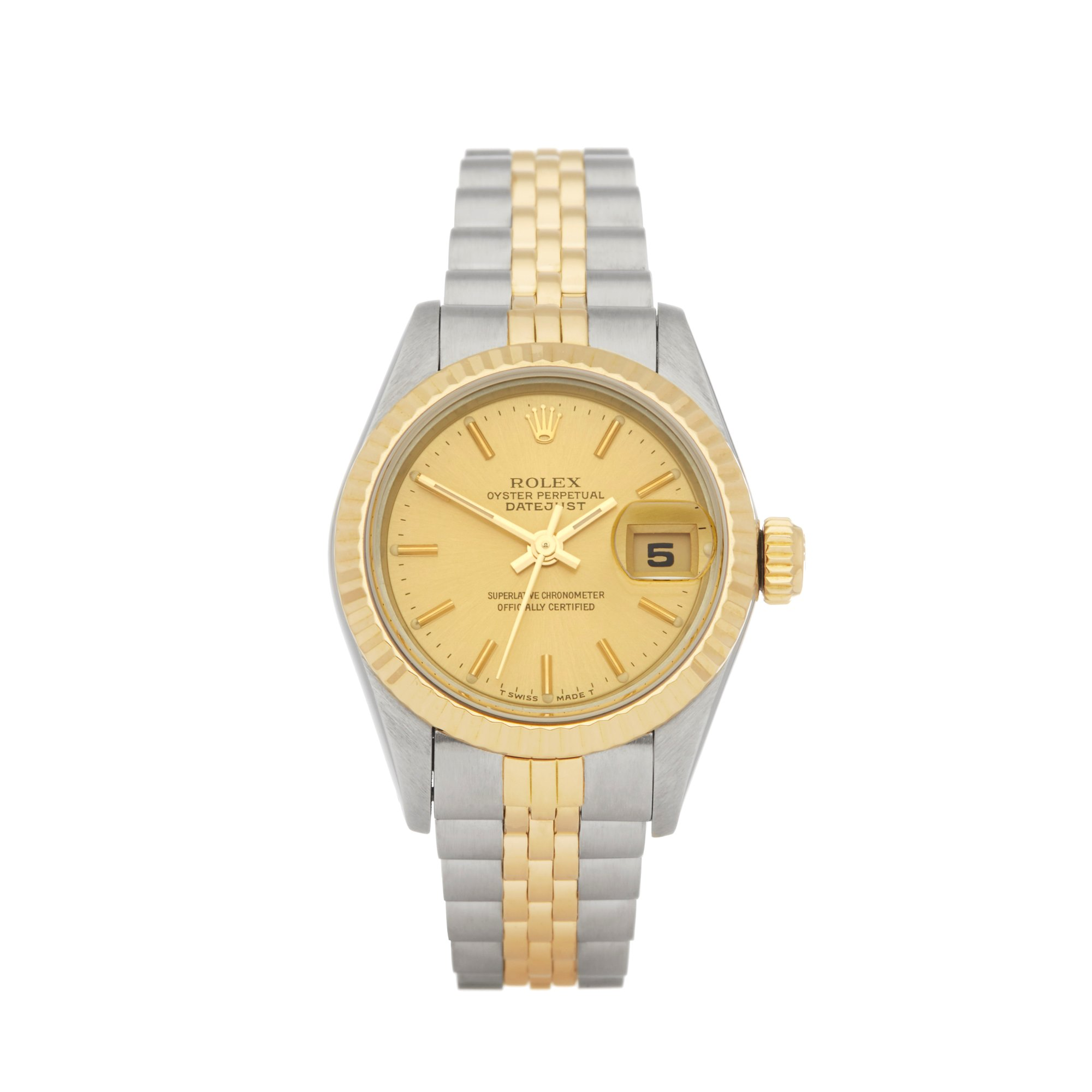 Rolex Datejust 26 Stainless Steel & Yellow Gold 69173