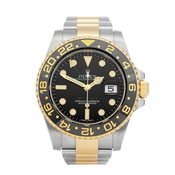 Rolex GMT-Master II Stainless Steel & Yellow Gold - 116713LN