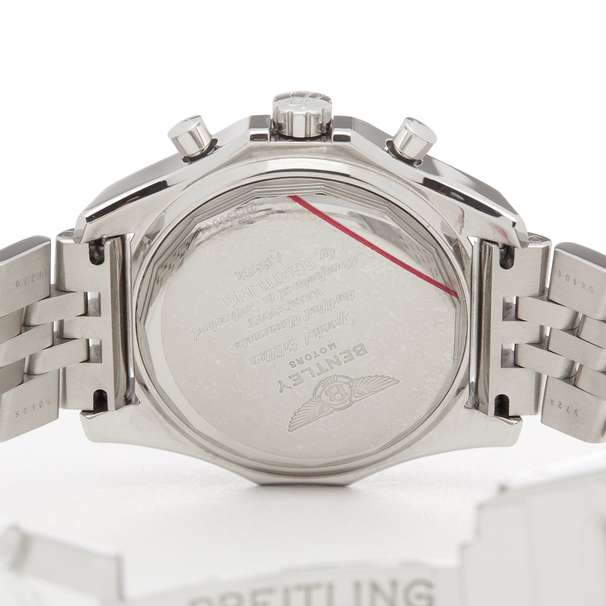 Breitling Bentley Chronograph Roestvrij Staal A13362