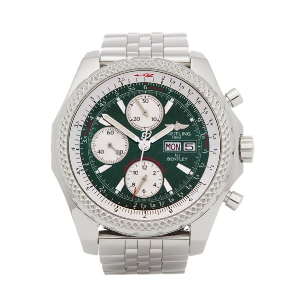 Breitling Bentley Chronograph Stainless Steel - A13362