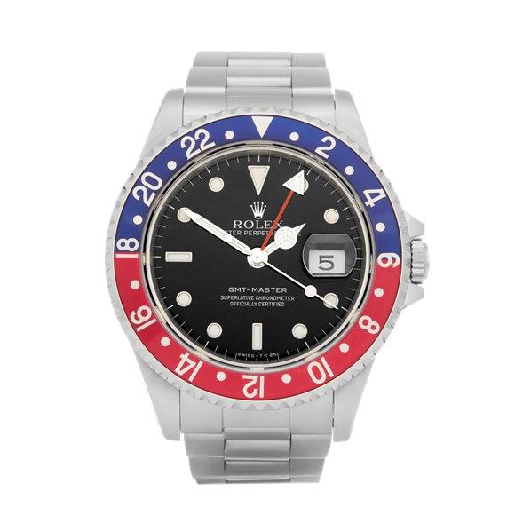 Rolex GMT-Master Pepsi Stainless Steel - 16700