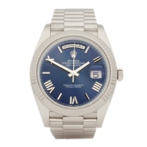 Rolex Day-Date 40 18K White Gold - 228239