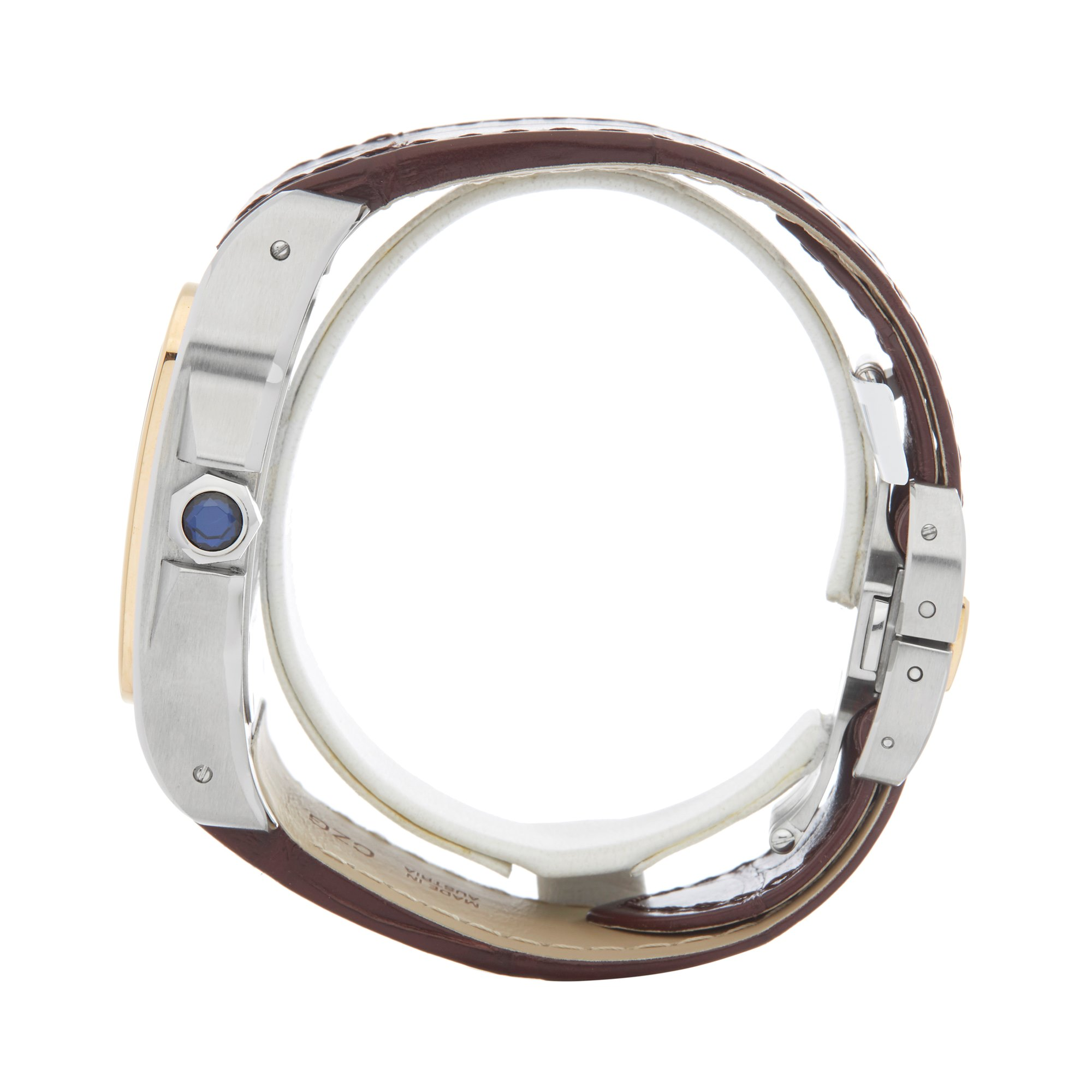 Cartier Santos 100 Xl Stainless Steel & Yellow Gold W20072X7 or 2656