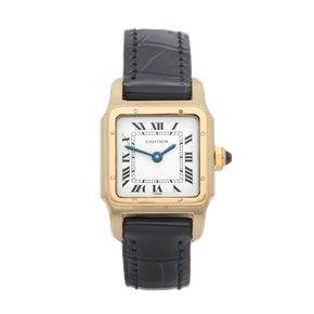Cartier Santos Dumont Paris 18K Yellow Gold