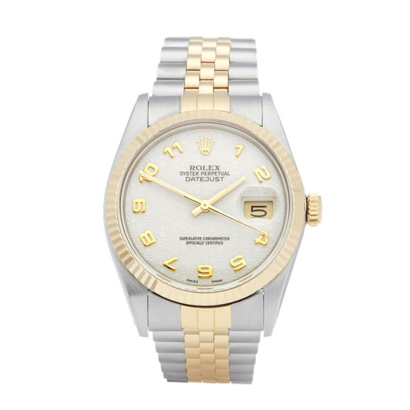 Rolex Datejust 36 Stainless Steel & Yellow Gold - 16013